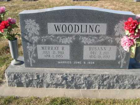 WOODLING, MURRAY R. - Douglas County, Nebraska | MURRAY R. WOODLING - Nebraska Gravestone Photos