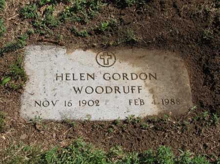 GORDON WOODRUFF, HELEN - Douglas County, Nebraska | HELEN GORDON WOODRUFF - Nebraska Gravestone Photos