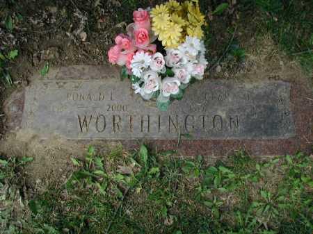 TIMM WORTHINGTON, CLARA OLIVE - Douglas County, Nebraska | CLARA OLIVE TIMM WORTHINGTON - Nebraska Gravestone Photos