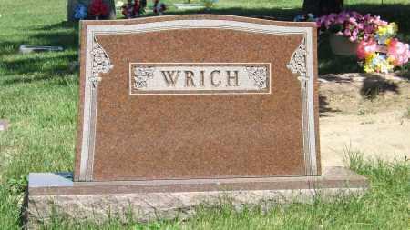 WRICH, FAMILY - Douglas County, Nebraska | FAMILY WRICH - Nebraska Gravestone Photos