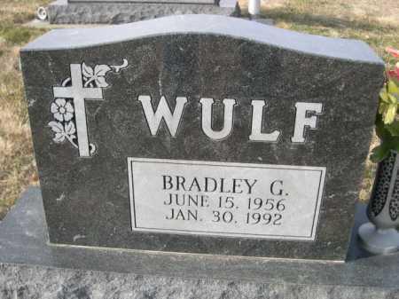 WULF, BRADLEY G. - Douglas County, Nebraska | BRADLEY G. WULF - Nebraska Gravestone Photos