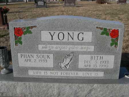 YONG, BITH - Douglas County, Nebraska | BITH YONG - Nebraska Gravestone Photos
