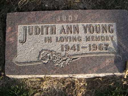 YOUNG, JUDITH ANN - Douglas County, Nebraska | JUDITH ANN YOUNG - Nebraska Gravestone Photos