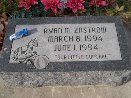 ZASTROW, RYAN M. - Douglas County, Nebraska | RYAN M. ZASTROW - Nebraska Gravestone Photos