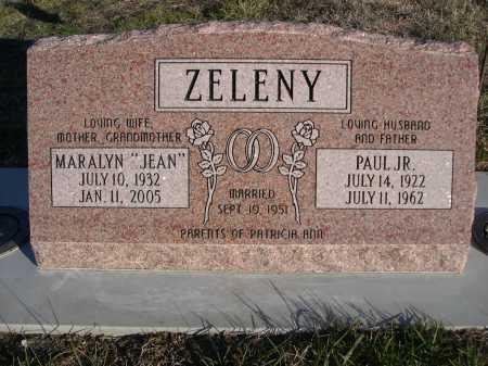 ZELENY, PAUL JR. - Douglas County, Nebraska | PAUL JR. ZELENY - Nebraska Gravestone Photos