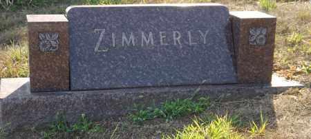 ZIMMERLY, FAMILY - Douglas County, Nebraska   FAMILY ZIMMERLY - Nebraska Gravestone Photos