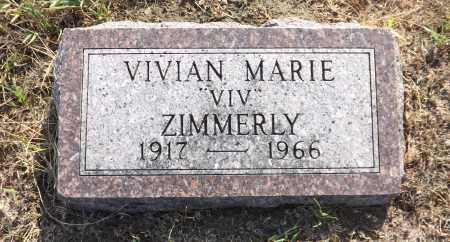 ZIMMERLY, VIVIAN MARIE - Douglas County, Nebraska   VIVIAN MARIE ZIMMERLY - Nebraska Gravestone Photos