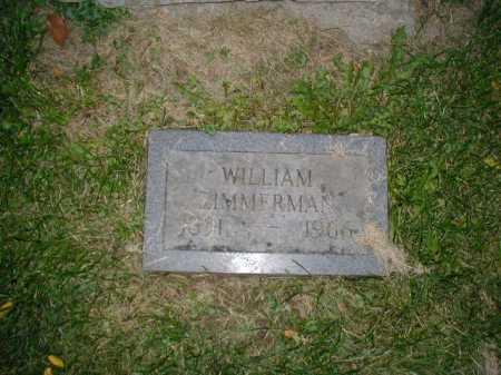 ZIMMERMAN, WILLIAM - Douglas County, Nebraska | WILLIAM ZIMMERMAN - Nebraska Gravestone Photos