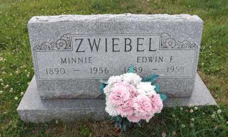 ZWIEBEL, EDWIN F. - Douglas County, Nebraska | EDWIN F. ZWIEBEL - Nebraska Gravestone Photos