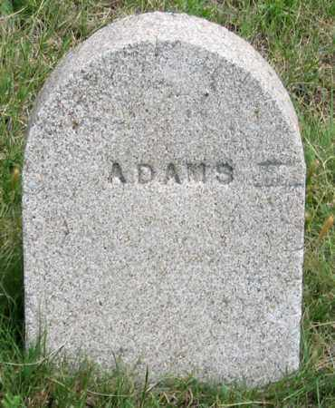 ADAMS, ? - Dundy County, Nebraska | ? ADAMS - Nebraska Gravestone Photos