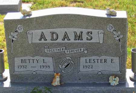ADAMS, BETTY L. - Dundy County, Nebraska | BETTY L. ADAMS - Nebraska Gravestone Photos