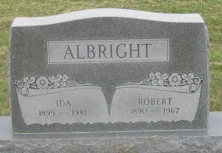 ALBRIGHT, IDA - Dundy County, Nebraska | IDA ALBRIGHT - Nebraska Gravestone Photos