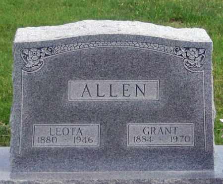 ALLEN, LEOTA - Dundy County, Nebraska | LEOTA ALLEN - Nebraska Gravestone Photos