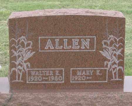 NOTHDURFT ALLEN, MARY K. - Dundy County, Nebraska | MARY K. NOTHDURFT ALLEN - Nebraska Gravestone Photos