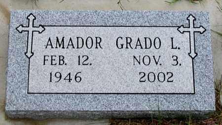 AMADOR, GRADO L. - Dundy County, Nebraska | GRADO L. AMADOR - Nebraska Gravestone Photos