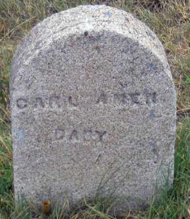 AMEN (AMON?), CARL BABY - Dundy County, Nebraska | CARL BABY AMEN (AMON?) - Nebraska Gravestone Photos