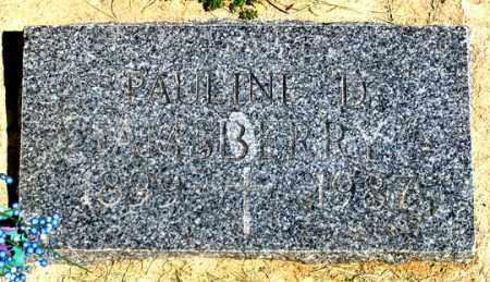 AMSBERRY, PAULINE D. - Dundy County, Nebraska   PAULINE D. AMSBERRY - Nebraska Gravestone Photos