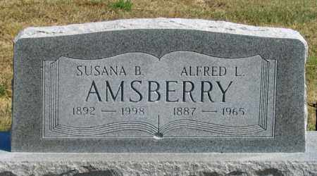 TALMON AMSBERRY, SUSANA B. - Dundy County, Nebraska | SUSANA B. TALMON AMSBERRY - Nebraska Gravestone Photos