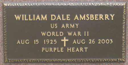 AMSBERRY, WILLIAM DALE - Dundy County, Nebraska | WILLIAM DALE AMSBERRY - Nebraska Gravestone Photos