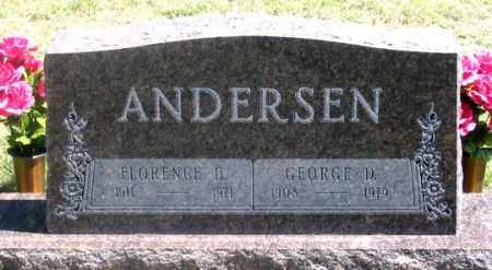 ANDERSEN, FLORENCE H. - Dundy County, Nebraska | FLORENCE H. ANDERSEN - Nebraska Gravestone Photos