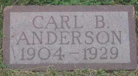 ANDERSON, CARL B. - Dundy County, Nebraska   CARL B. ANDERSON - Nebraska Gravestone Photos