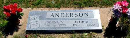 ANDERSON, ARTHUR S. - Dundy County, Nebraska | ARTHUR S. ANDERSON - Nebraska Gravestone Photos