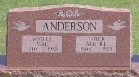 SEYBOLD ANDERSON, N. MAE - Dundy County, Nebraska   N. MAE SEYBOLD ANDERSON - Nebraska Gravestone Photos