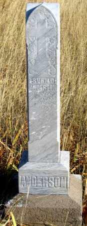 ANDERSON, SVEN D. - Dundy County, Nebraska   SVEN D. ANDERSON - Nebraska Gravestone Photos