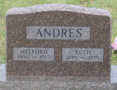 ANDRES, RUTH - Dundy County, Nebraska | RUTH ANDRES - Nebraska Gravestone Photos