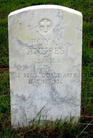 ANDRES, ROY J. - Dundy County, Nebraska   ROY J. ANDRES - Nebraska Gravestone Photos