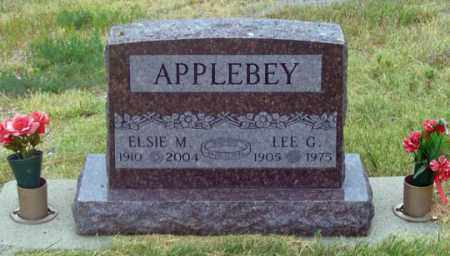 APPLEBEY, ELSIE M. - Dundy County, Nebraska | ELSIE M. APPLEBEY - Nebraska Gravestone Photos