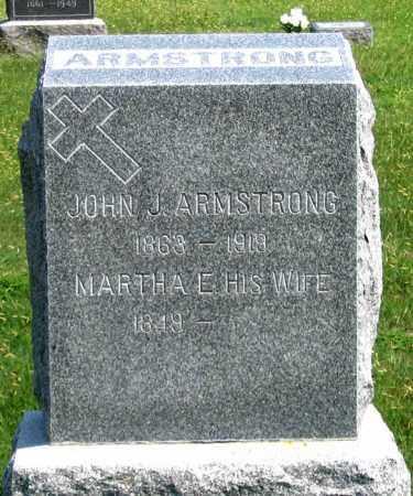 WEYANDT ARMSTRONG, MARTHA A. - Dundy County, Nebraska | MARTHA A. WEYANDT ARMSTRONG - Nebraska Gravestone Photos
