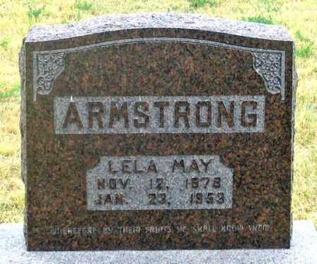ARMSTRONG, LELA MAY - Dundy County, Nebraska   LELA MAY ARMSTRONG - Nebraska Gravestone Photos