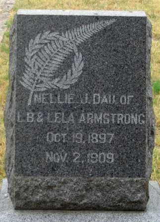 ARMSTRONG, NELLIE J. - Dundy County, Nebraska   NELLIE J. ARMSTRONG - Nebraska Gravestone Photos
