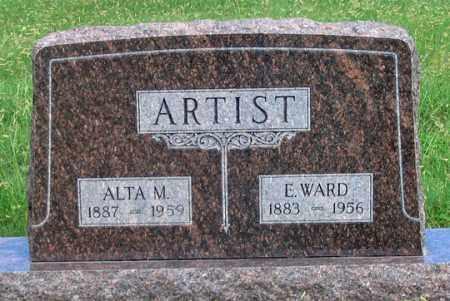 FRASIER ARTIST, ALTA M. - Dundy County, Nebraska   ALTA M. FRASIER ARTIST - Nebraska Gravestone Photos