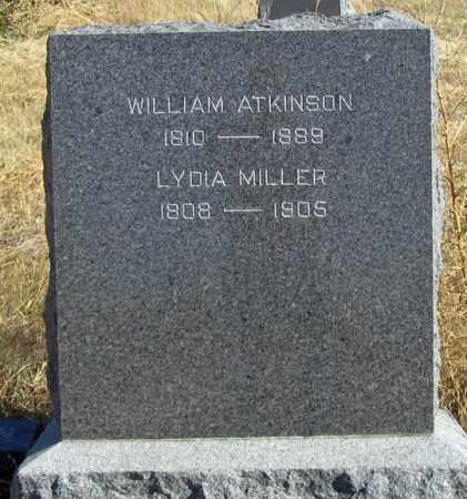MILLER, LYDIA - Dundy County, Nebraska | LYDIA MILLER - Nebraska Gravestone Photos