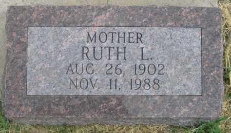 AXELSON, RUTH L. - Dundy County, Nebraska   RUTH L. AXELSON - Nebraska Gravestone Photos