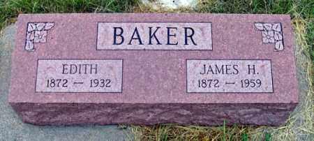 ARNOLD BAKER, EDITH - Dundy County, Nebraska | EDITH ARNOLD BAKER - Nebraska Gravestone Photos