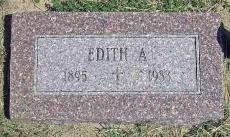 BALDERSON, EDITH A. - Dundy County, Nebraska | EDITH A. BALDERSON - Nebraska Gravestone Photos