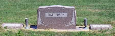 BALDERSON, LEE FAMILY GRAVE SITE - Dundy County, Nebraska | LEE FAMILY GRAVE SITE BALDERSON - Nebraska Gravestone Photos