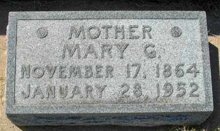GRIFFITH BALDERSON, MARY G. - Dundy County, Nebraska | MARY G. GRIFFITH BALDERSON - Nebraska Gravestone Photos