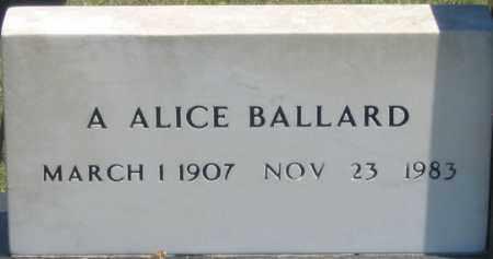 LAUMANN BALLARD, AMELIA ALICE - Dundy County, Nebraska   AMELIA ALICE LAUMANN BALLARD - Nebraska Gravestone Photos