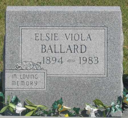 BALLARD, ELSIE VIOLA - Dundy County, Nebraska   ELSIE VIOLA BALLARD - Nebraska Gravestone Photos