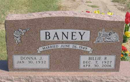 BANEY, BILLIE R. - Dundy County, Nebraska | BILLIE R. BANEY - Nebraska Gravestone Photos