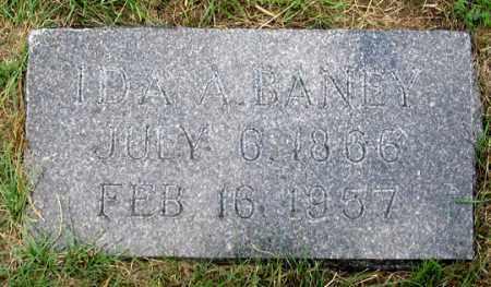 REDMAN BANEY, IDA A. - Dundy County, Nebraska | IDA A. REDMAN BANEY - Nebraska Gravestone Photos