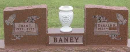 BANEY, GERALD K. - Dundy County, Nebraska   GERALD K. BANEY - Nebraska Gravestone Photos