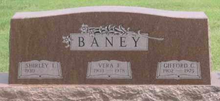 BANEY, SHIRLEY I. - Dundy County, Nebraska | SHIRLEY I. BANEY - Nebraska Gravestone Photos