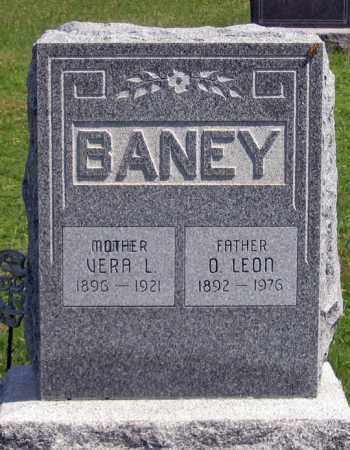 BANEY, O. LEON - Dundy County, Nebraska | O. LEON BANEY - Nebraska Gravestone Photos