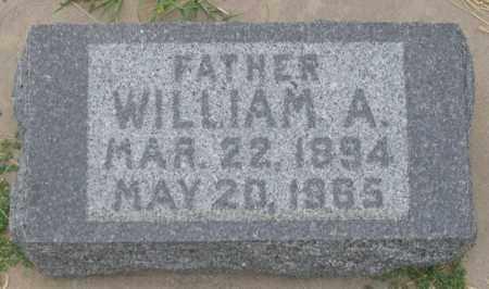 BANEY, WILLIAM A. - Dundy County, Nebraska | WILLIAM A. BANEY - Nebraska Gravestone Photos