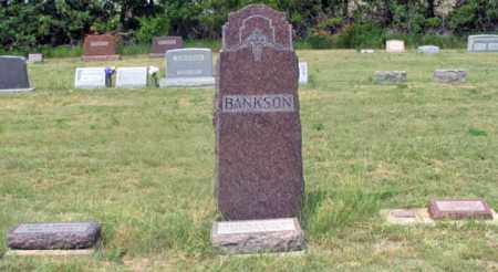 BANKSON FAMILY, GRAVE SITE - Dundy County, Nebraska | GRAVE SITE BANKSON FAMILY - Nebraska Gravestone Photos